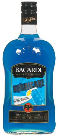 Bacardi Party Drinks Hurricane